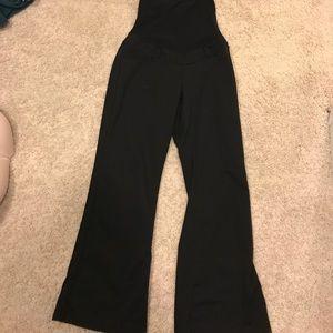 Black maternity trousers petite medium